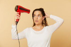 Haare zu heiss foehnen