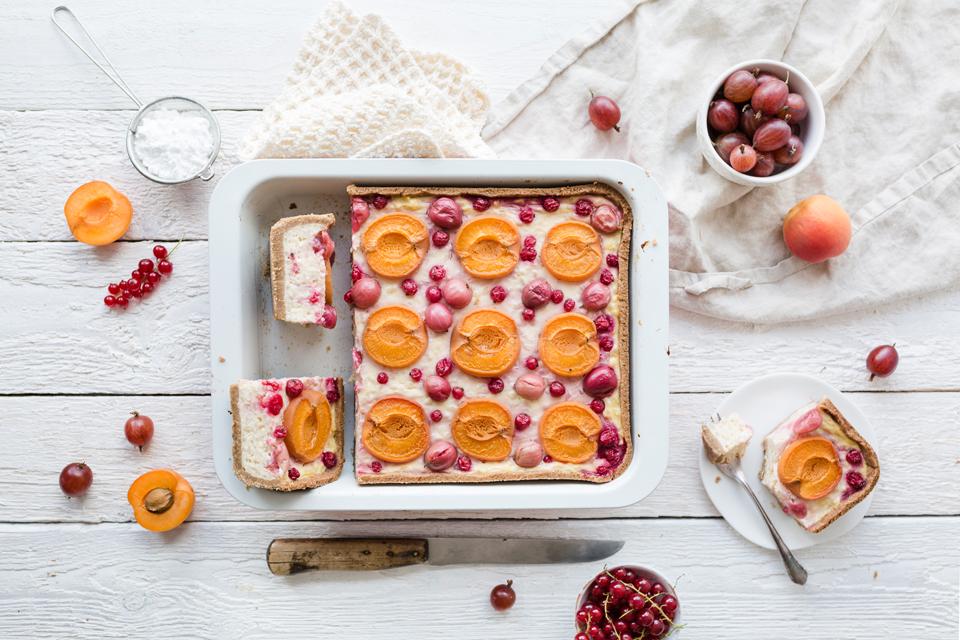 Rezept Aprikosen-Milchreiskuchen