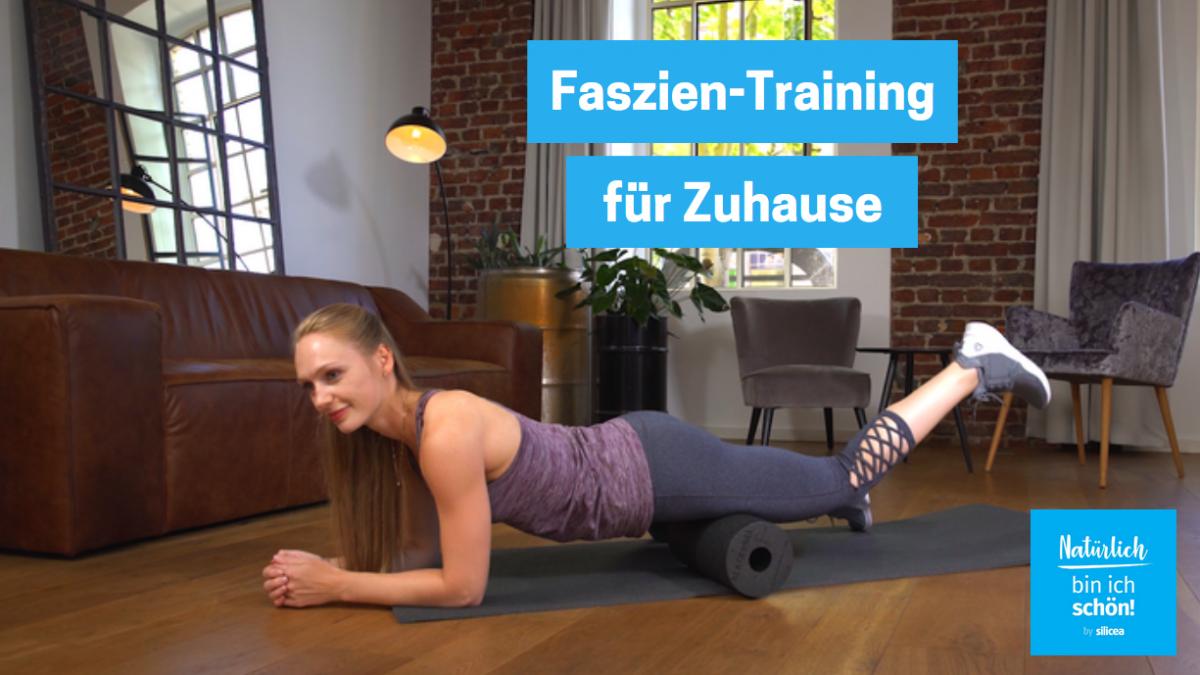 Faszien-Training für Oberschenkel, Rücken und Gesäß